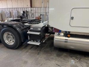 Diesel generator APU Install 1
